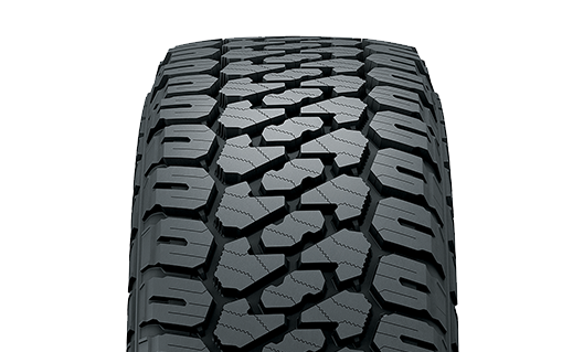 "Firestone Destination XT Built tough to give you proven ""anywhere"" traction and durability you can count on"